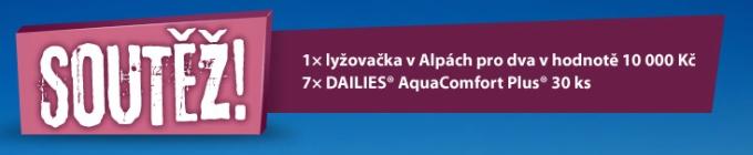 soutěž - kontaktní čočky Dailies