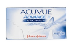 Kontaktní čočky Acuvue Advance for Astigmatism