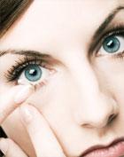 strach z kontaktních čoček
