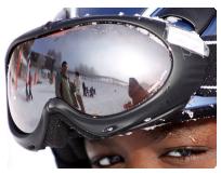 kontaktní čočky a lyžování