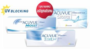 acuvue kontaktní čočky