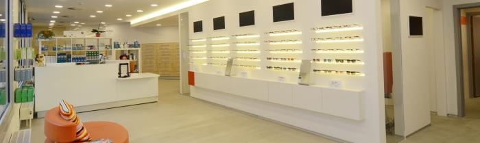 nové centrum čoček a brýlí